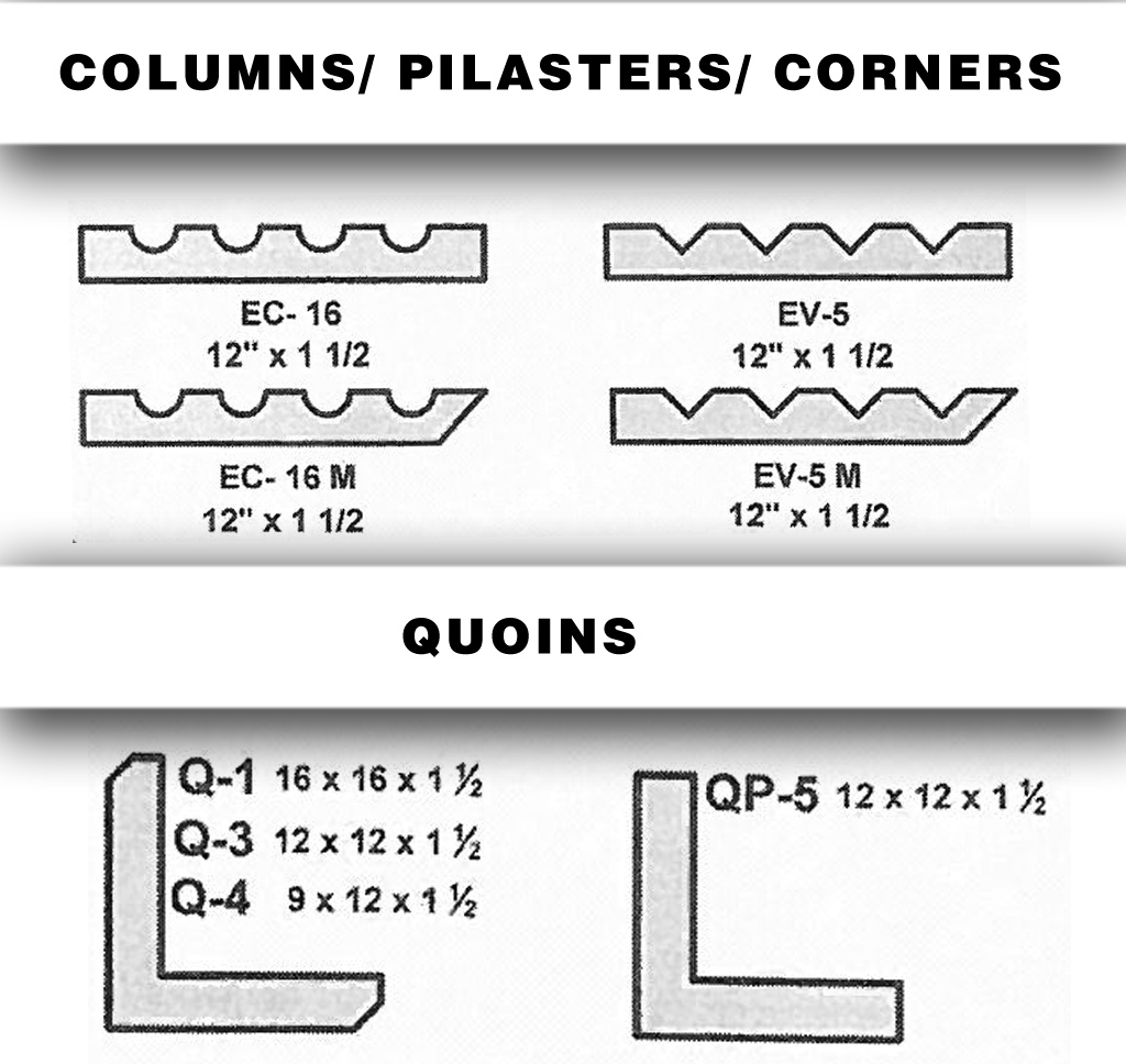 central stucco-architectural shapes-corners_quoins