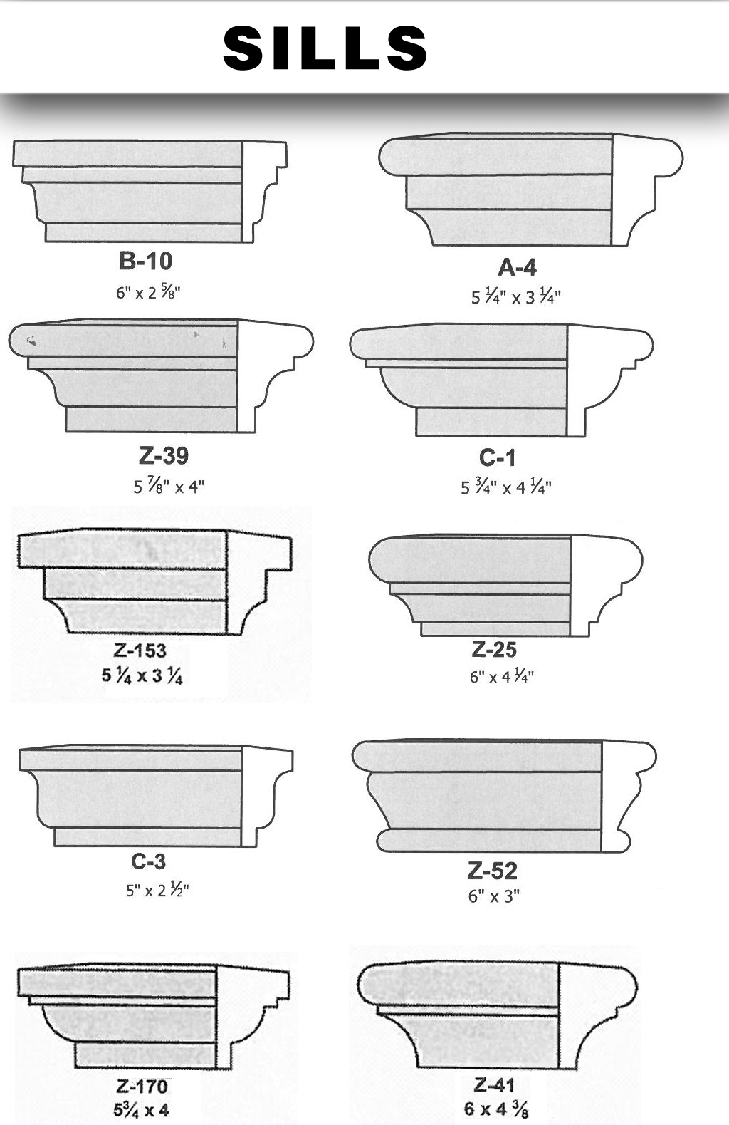central stucco-shapes-sills