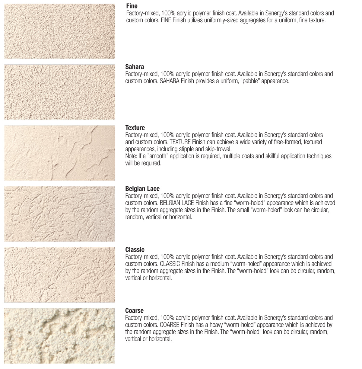 Contrast Between Stone And Plaster Finish: Stucco Textures