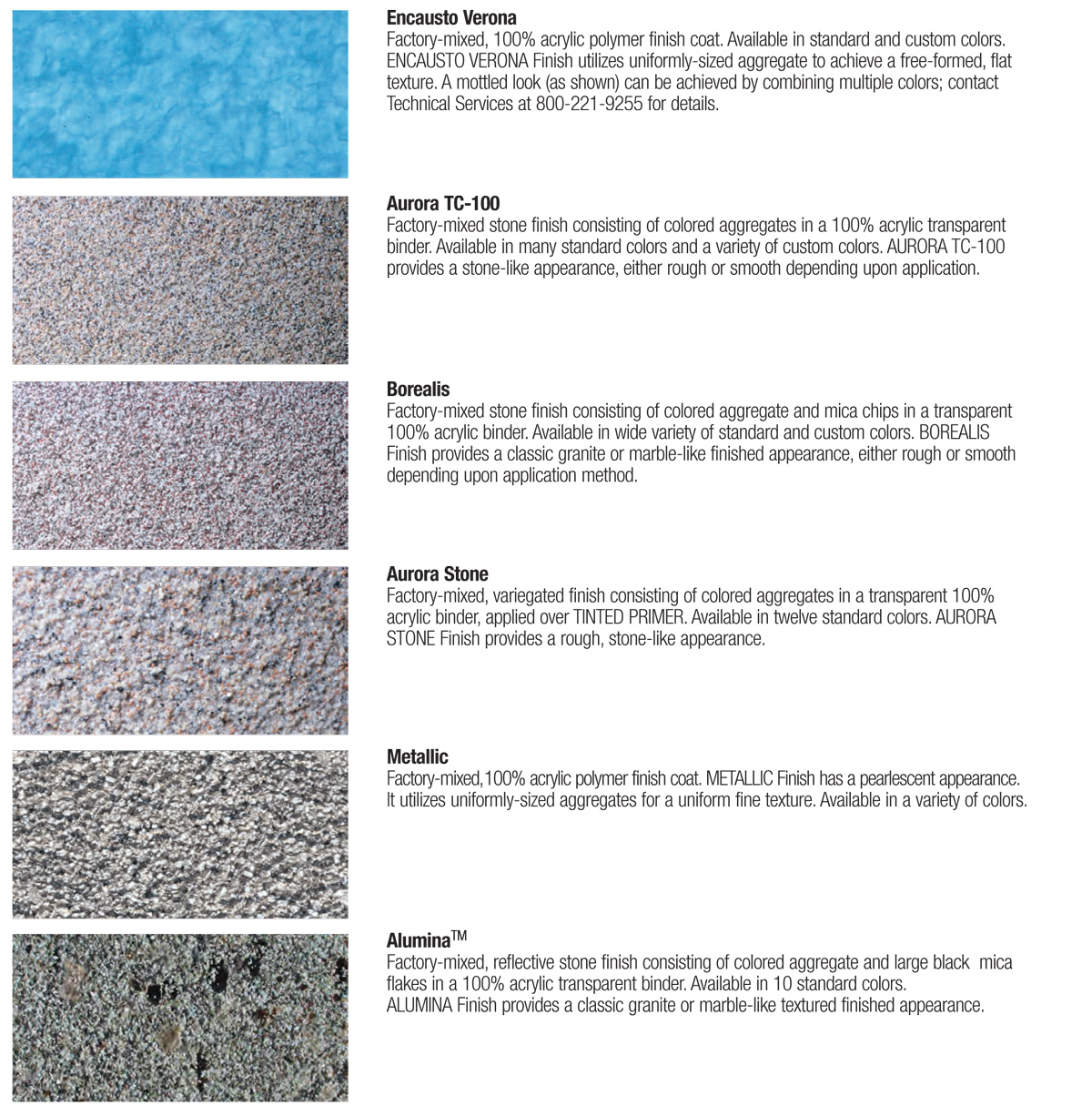 Stucco textures Types of stone for home exterior